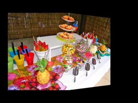 Hawaii party birthday party ideas fiesta hawaiana cumple y fiestas - 1000 Ideas About Decoracion Fiesta Hawaiana On Pinterest