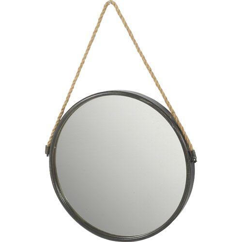 Les 25 meilleures id es de la cat gorie miroir de corde - Miroir rond avec corde ...