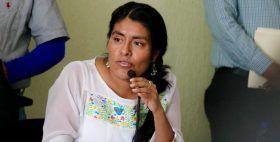 Encabeza Eufrosina Cruz los trabajos para la implementación del Sistema Estatal de Combate a la Corrupción