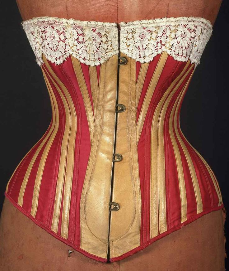Corsets and Bustles from 1880-90 - the Move from Over-Structured Opulence to the 'Healthy Corset' - Victoria and Albert Museum