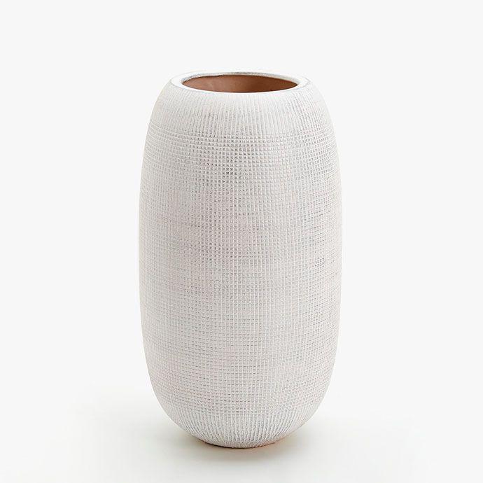 Jarra prateada cerâmica riscas - Jarras - Decoração | Zara Home Portugal
