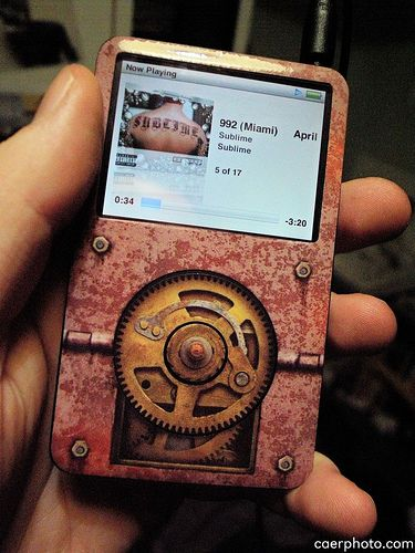 Steampunk ipod.