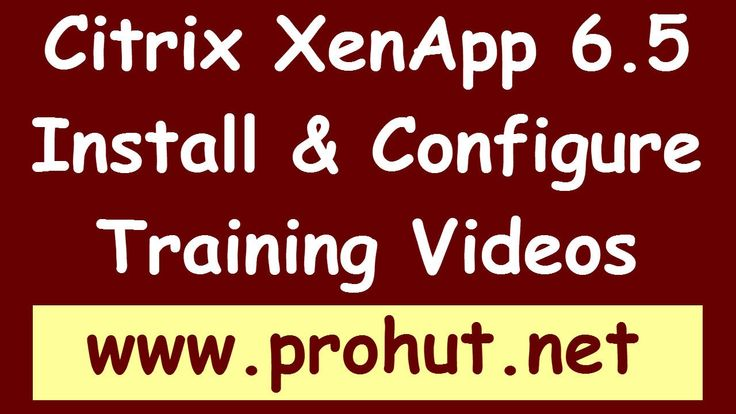 Load Balance Citrix XenApp 6.5 environment and Published Application - P...