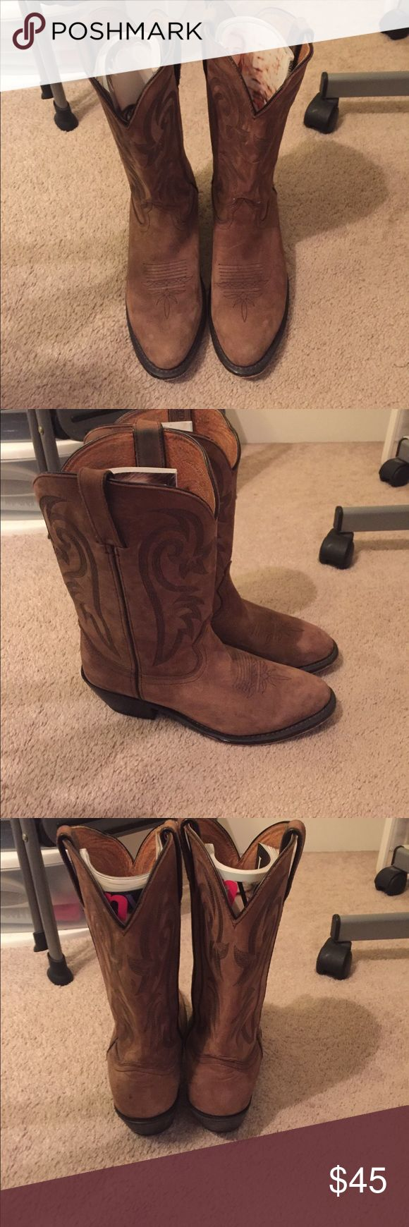 RedHead cowgirl Boots RedHead Boots in wonderful condition. Lightly used Shoes Heeled Boots