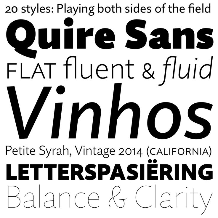 Quire Sans | Typeface Review | Typographica | The Type I Like ...