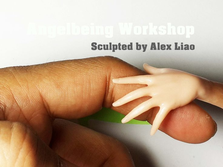 The video shown how to make a figurine hand step by step. Using the same methods to make the hand bigger or smaller according to the proportion and the scale...