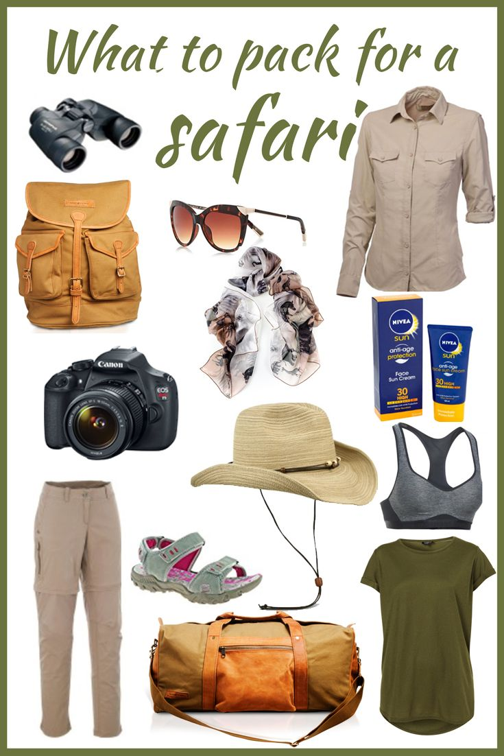 What to pack for a safari - going on a safari is right up there on many a bucket list and so it should be. But for first-timers, knowing what to pack for a safari isn't as straight forward as pack for an average city break. To help you avoid ruining one of the most adventurous travel experiences you'll ever have, we've pulled together this definitive list of what to pack for a safari. #SafariPacking #PackingforaSafari Read the full article here…