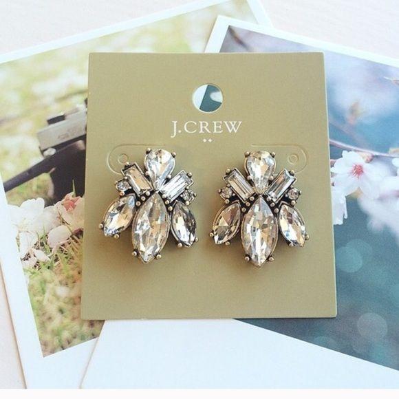 Cute Jcrew Stud earrings Cute Jcrew earrings from free factory J. Crew Jewelry Earrings
