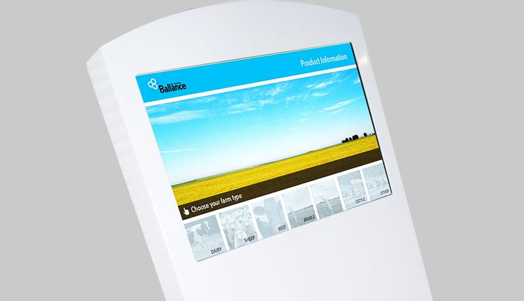 Fingermark were commissioned to design a customer friendly user interface that farmers could use to access more detailed information at the point of purchase.