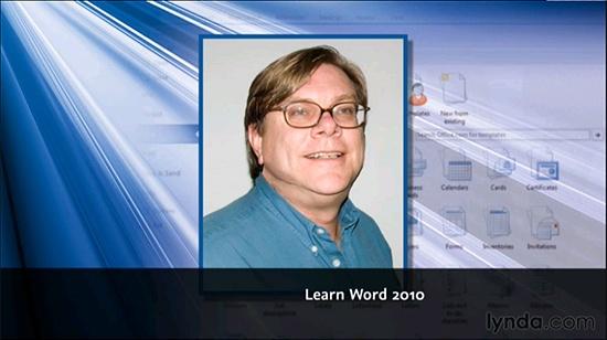 Lynda - Learning Word 2010  http://tutdownload.com/all-tutorials/programming/microsoft/office/lynda-learning-word-2010/