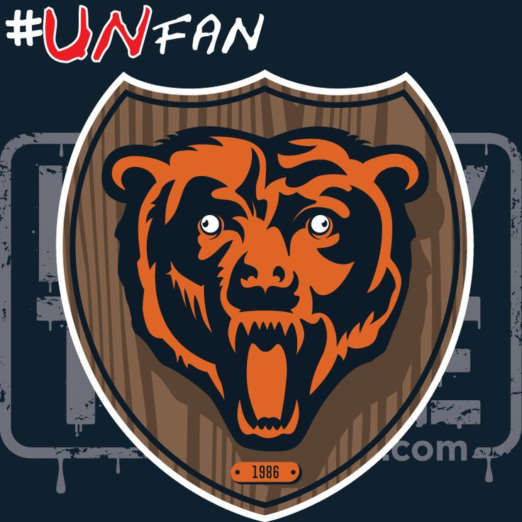Funny Bears Parody Logo #UNfan #Vikings #Bears #Packers #Lions #NFL #ParodyTease #memes