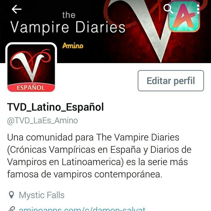 Twitter The Vampire Diaries LA-ES Comunidad Oficial de Amino Échale un vistazo a TVD_Latino_Español (@TVD_LaEs_Amino): https://twitter.com/TVD_LaEs_Amino?s=09