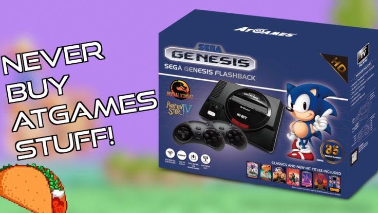 Do NOT Buy an AtGames Sega Genesis Flashback HD 2017 Console!