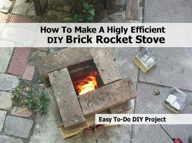 Brick Rocket Stove Stoves Pinterest Rocket Stoves