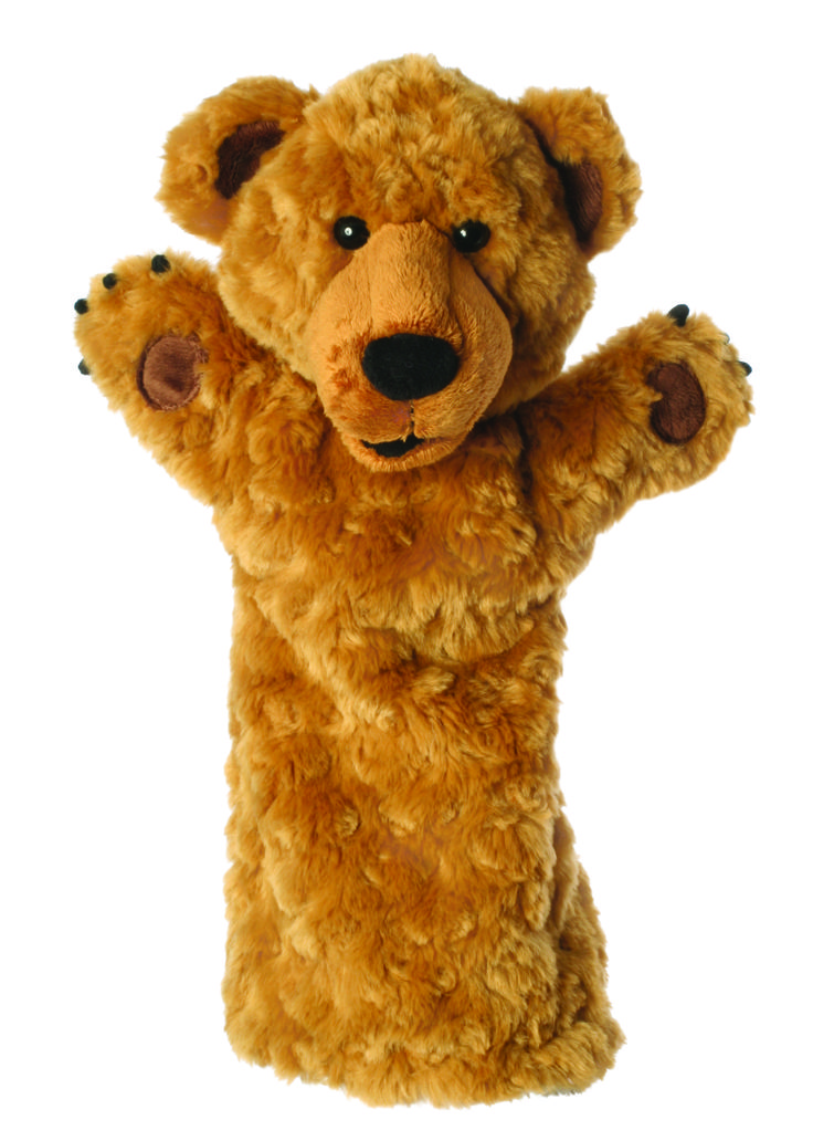 Bear Long Sleeved Glove Animal Hand Puppet Will you tell a story to your child with the aid of a puppet, encourage language in those delayed or struggling to express themselves, use a puppet to teach and engage children or encourage children to tell their own stories with their imagination The Puppet Company produce high quality puppets which enchant and delight. Puppets encourage children to engage, be creative, tell stories, use their imagination, and most importantly - have fun!