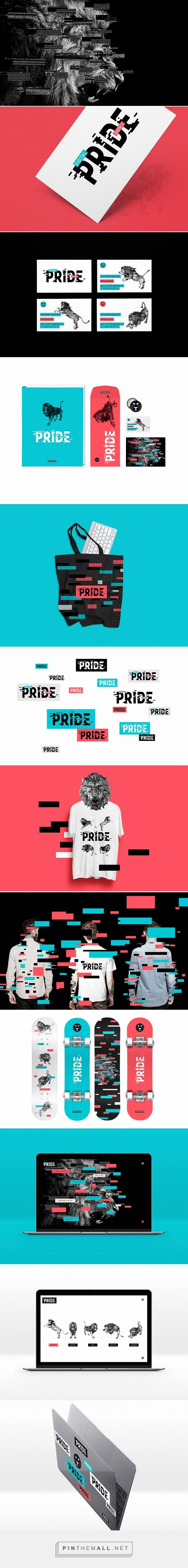 Digital Agency Pride Branding on Behance | Fivestar Branding – Design and Branding Agency & Inspiration Gallery