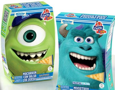 """Check out new work on my @Behance portfolio: """"Doria Kids Monsters University"""" http://on.be.net/13ajIal"""