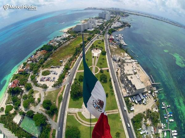 Maalob kiin (que tengan un hermoso día en Maya) saludos desde la península de Yucatán en Quintana Roo queridos viajeros. Excelente inicio de semana. http://ift.tt/1m3yoTN