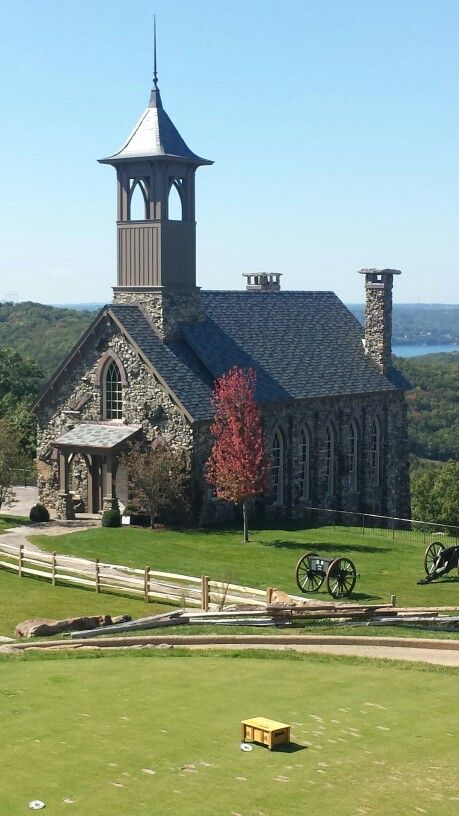 3 Story Wedding Chapel Overlooking Table Rock Lake And Golf Course At Top Of The In Branson Mo October Scenic Pinterest