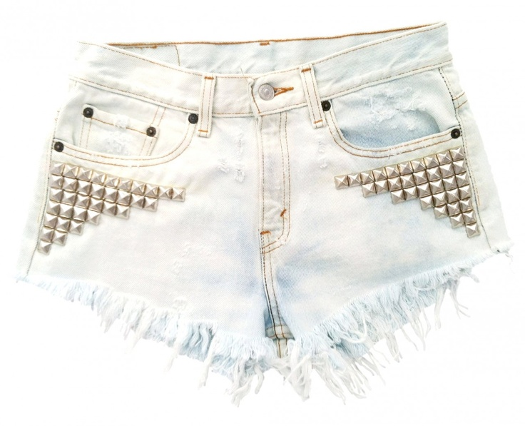 Omen Eye Store - Nova Short, $108.00 (http://www.omeneye.com/nova-short/): Studded Shorts, Fashion, Style, Studded Cutoff, Clothes, Dream Closet, Nova Short, Short Studded, Cutoff Shorts