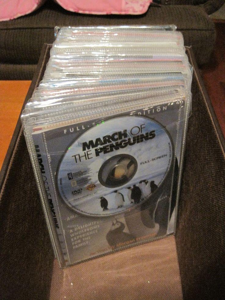 Organization: DVD Storage: Atlantic DVD sleeves