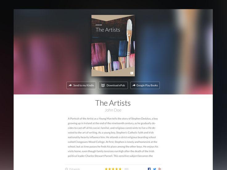 Author eBook Mini-site