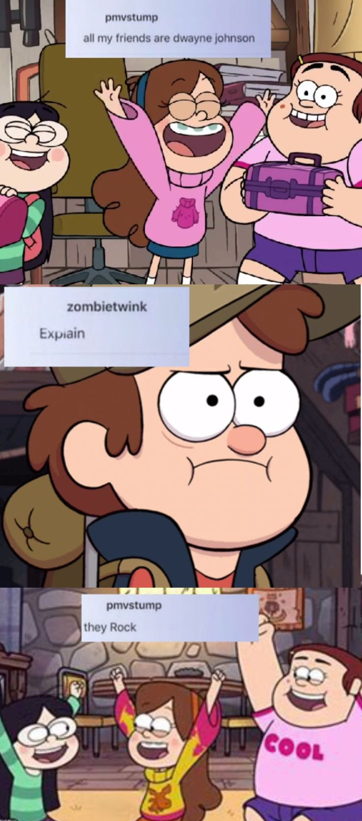 Gravity falls texpost , I made it with IbisPaint X and Pic Collage. Gravity falls textposts , Mabel pines text posts ,