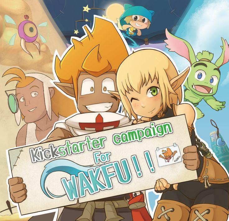 Wakfu Kickstarter ! by yamiyonofen
