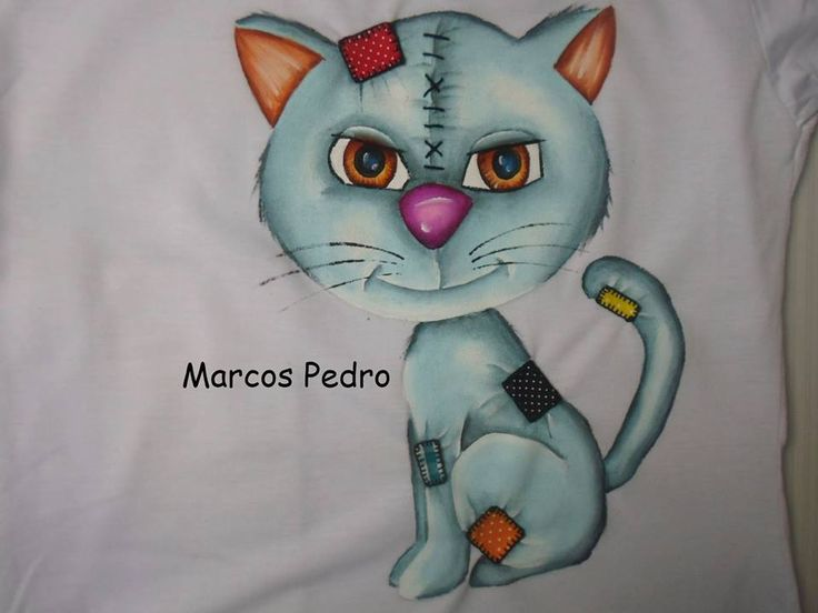 pintura de Marcos Pedro e trabalho de patch aplique de teresa cristina da pagina artesanato arretado de bom