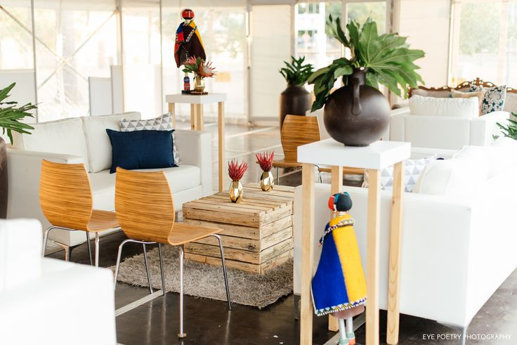 Ethnic, Ndebele furniture setup by GRAND ROOM DESIGN