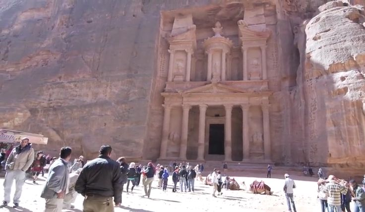 Team Outpost visits #Petra and gets some #incredible views of this legendary rock-cut world.