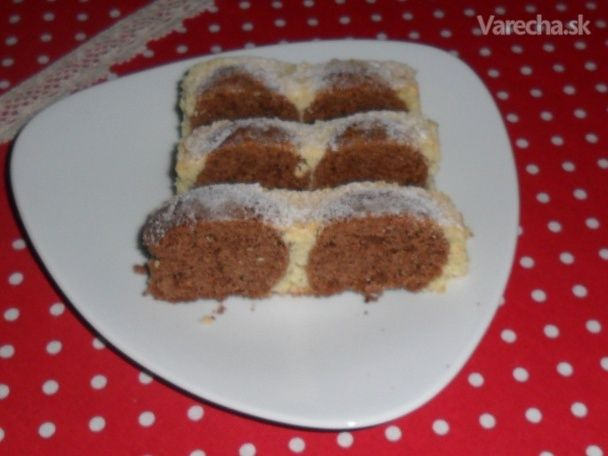 Tvarohový guličkový koláč fotorecept - Recept