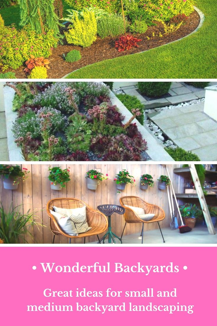 Superbe Top Tiny Landscaping Projects