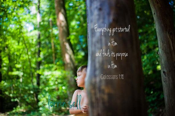 scripture photograph colossians 1:16 by lorrinsell on Etsy