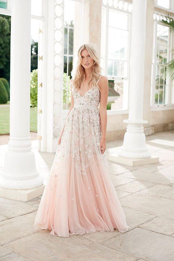 vestidos de novia clásicos y bohemios 2017