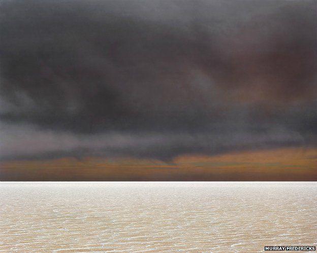 From Murray Fredericks' Lake Eyre 'Salt' series: Salt 110