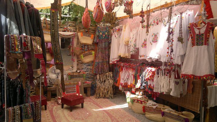 Las Dalias Hippy Market....@flordevidaibiza