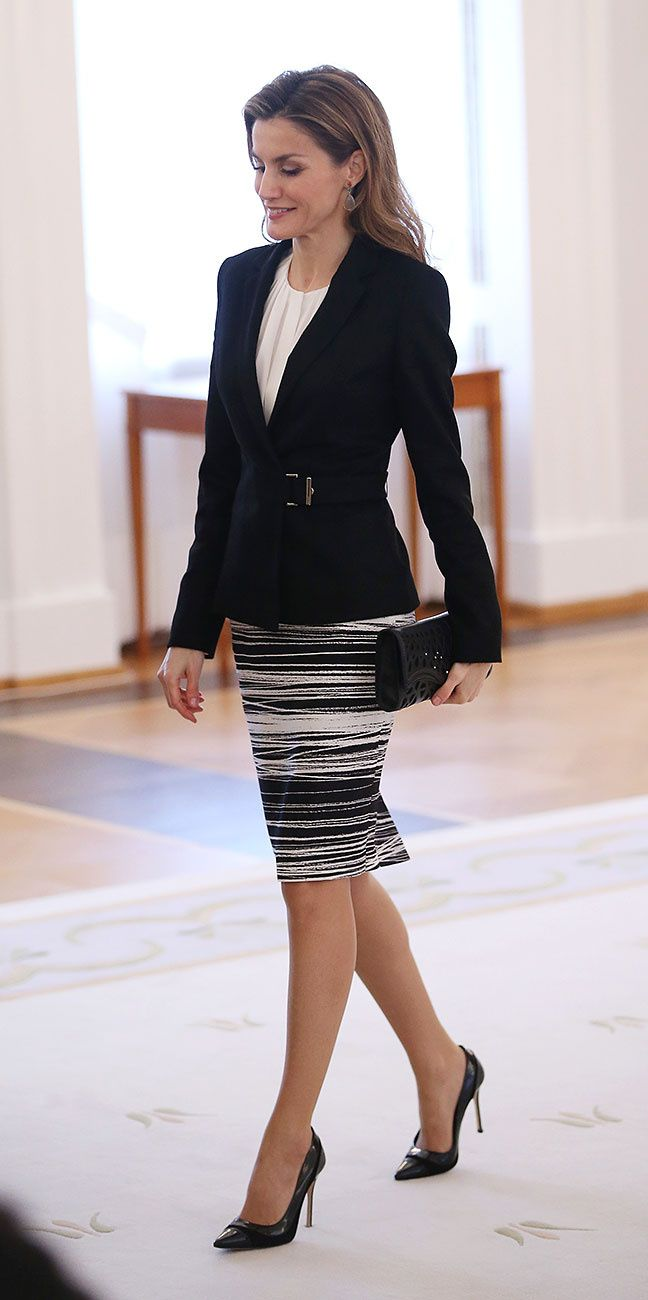 La Reina Letizia de España en Berlín. Foto Getty Images