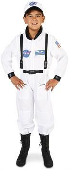 PartyBell.com - White Astronaut Child Costume