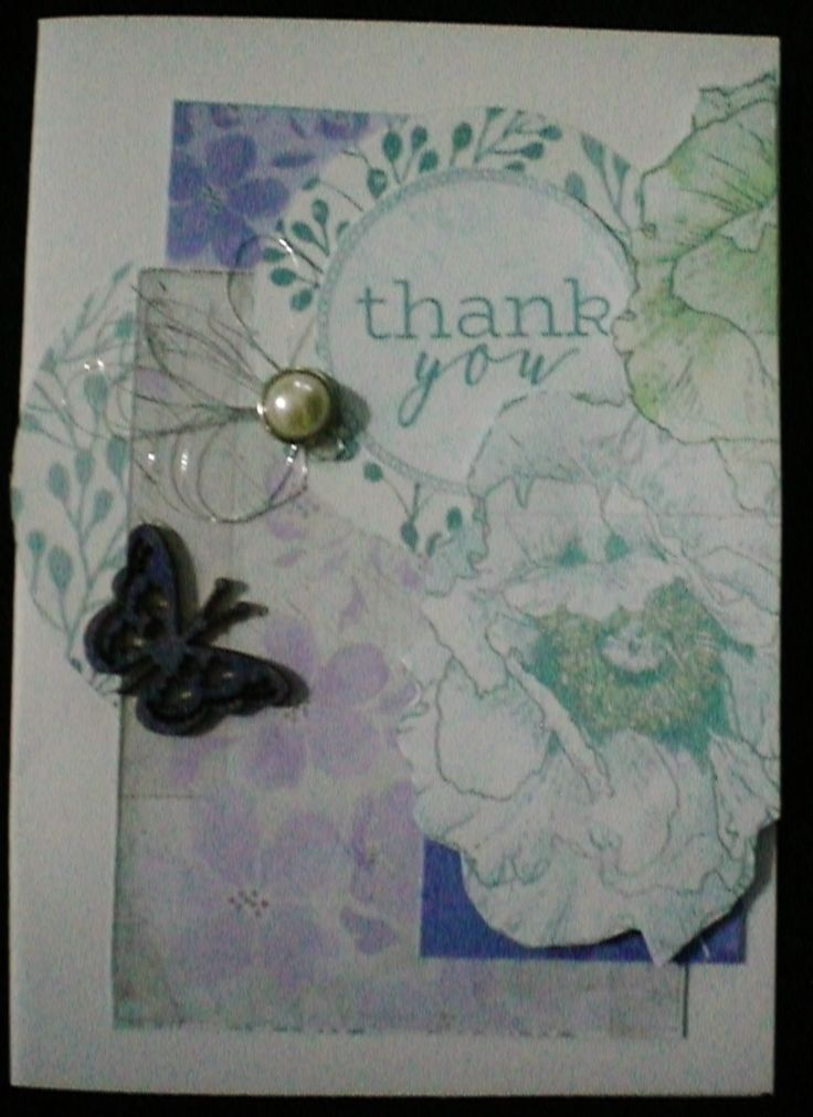 Kaisercraft Lilac Whisper handmade by Kay