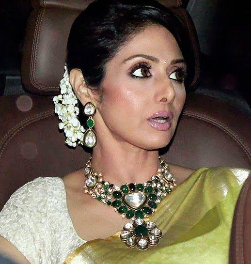 Jewellery Designs: Sridevi Huge Set by Amrapali