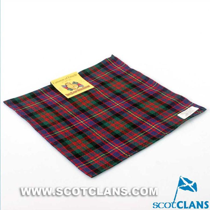 Cameron of Erracht Modern Pocket Square Handkerchief