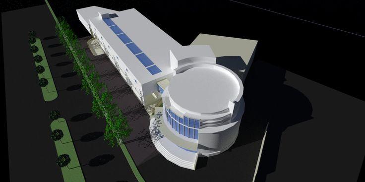 Mandiri Data Center Jakarta : the concept