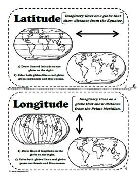 Worksheet Latitude And Longitude Worksheets For 5th Grade 1000 ideas about teaching map skills on pinterest maps and globes a printable book for introducing grade social studiesaround the world in 180 dayseducationeducati