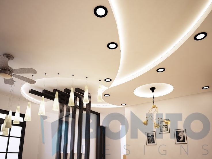 Beautiful to look at and yet subtle on the eyes-- yes, this is what this false ceiling design does to the interiors of a 3BHK apartment in Salarpuria Greenage, Bommanahalli. Do you agree?