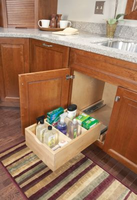 Pull Out Storage Medallion Cabinetry Just Make It