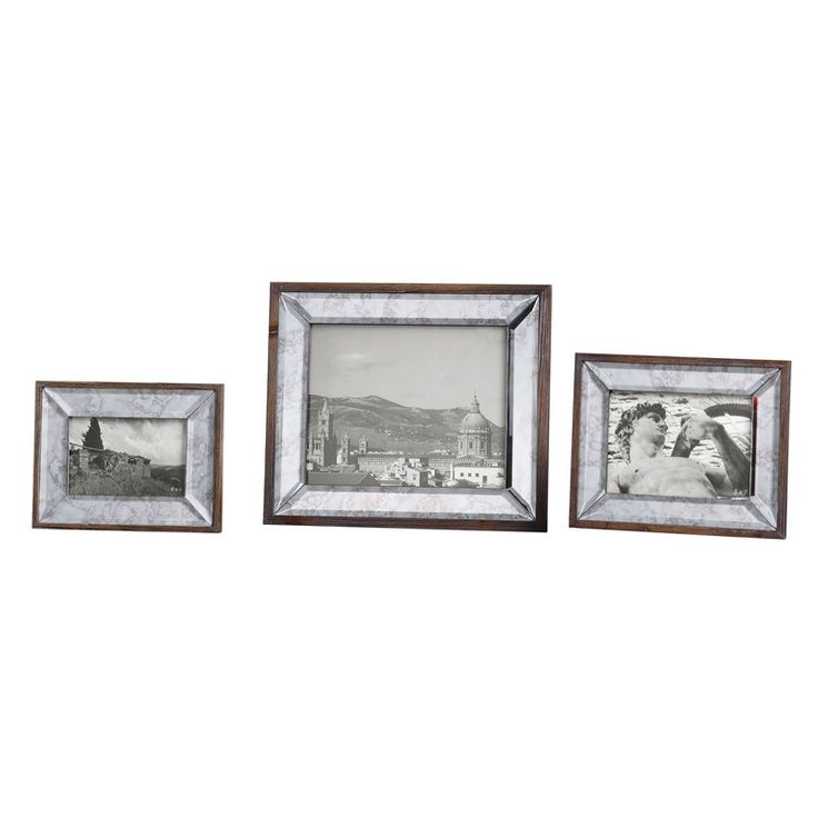 uttermost 18567 daria antique mirror photo frames s3