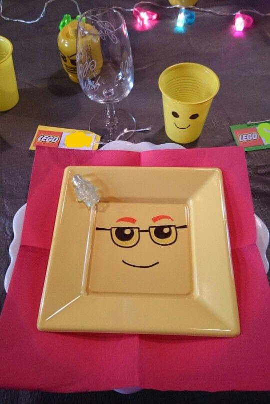 Deco table lego