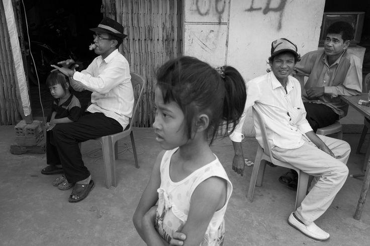 CAMBODIA. Phnom Penh. 10/12/2011: Boeung Kak lake community preparing celebration of Human Rights Day.