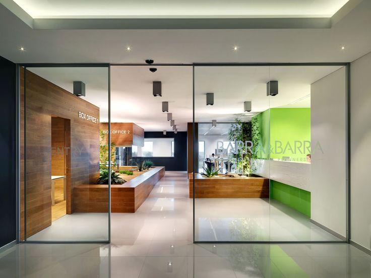 Дизайн интерьера офиса Barra&Barra от студии Damilano Studio
